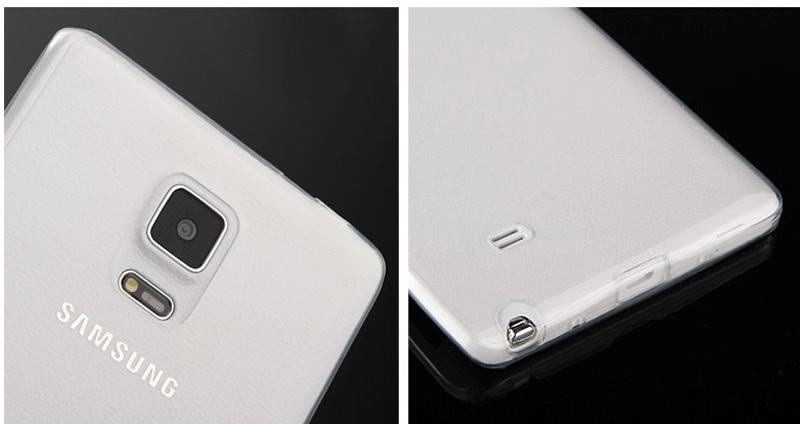 Cheap Slim Pink Silicone Samsung Galaxy Note Edge Case SGNE02_14