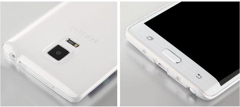 Cheap Slim Pink Silicone Samsung Galaxy Note Edge Case SGNE02_17