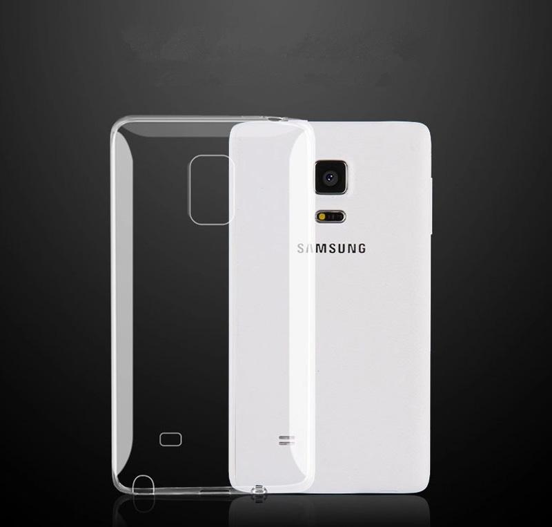 Cheap Slim Pink Silicone Samsung Galaxy Note Edge Case SGNE02_8