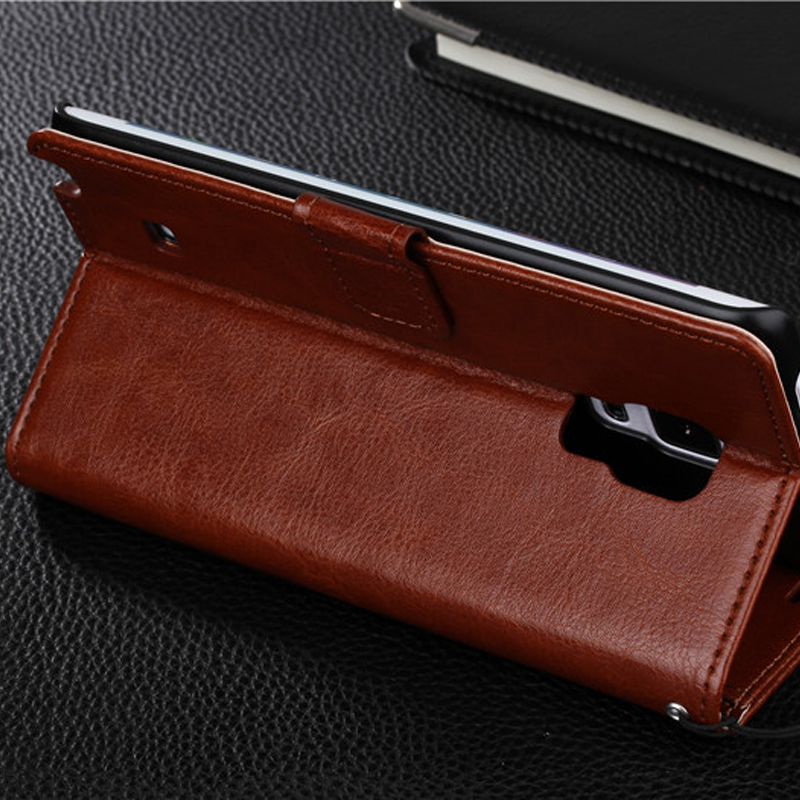 Protective Leather Clamshell Case For Samsung Note Edge N9150 With Card Slot SGNE03_7