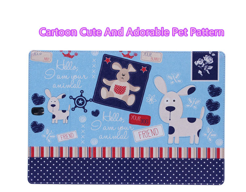 Cute Cartoon High Quality Painted Pattern Samsung Galaxy Tab S 10.5 Case Or Covers SGTC03_12