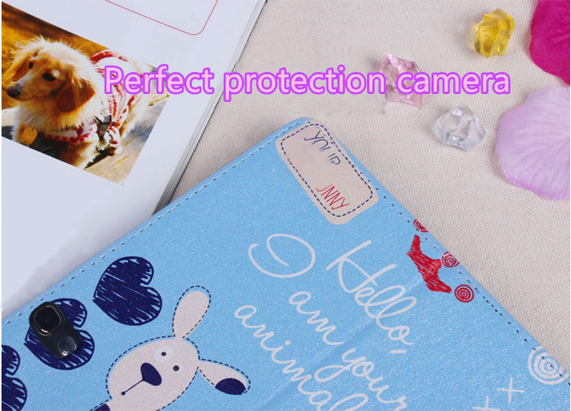 Cute Cartoon High Quality Painted Pattern Samsung Galaxy Tab S 10.5 Case Or Covers SGTC03_14