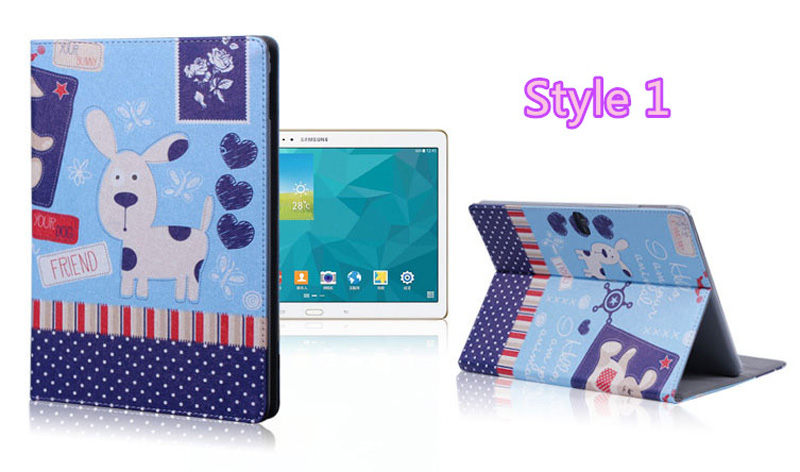 Cute Cartoon High Quality Painted Pattern Samsung Galaxy Tab S 10.5 Case Or Covers SGTC03_15