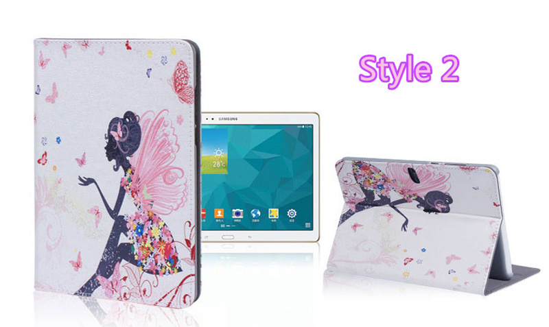 Cute Cartoon High Quality Painted Pattern Samsung Galaxy Tab S 10.5 Case Or Covers SGTC03_17