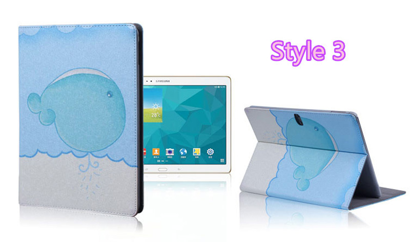 Cute Cartoon High Quality Painted Pattern Samsung Galaxy Tab S 10.5 Case Or Covers SGTC03_19