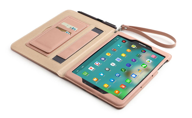 Leather Samsung Tab S3 9.7 Inch Cover Bag With Pen Cap SGTC05_20