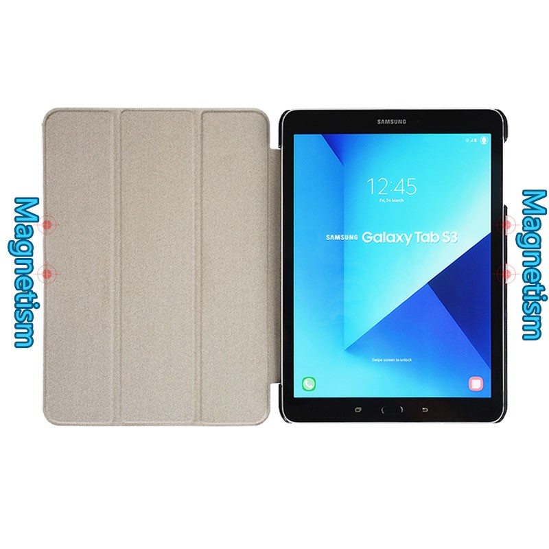 Leather Samsung Tab S3 9.7 Inch Cover Bag With Pen Cap SGTC05_9