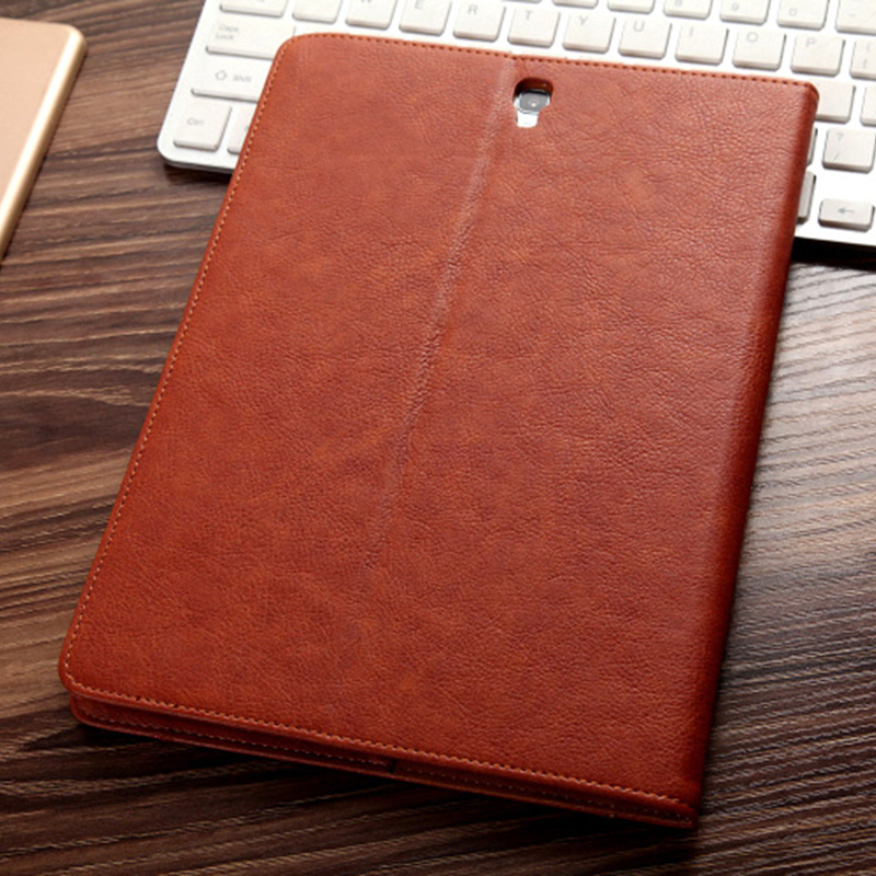 Leather Samsung Galaxy Tab S3 Case Cover With Card Holder And Pen Cap SGTC06_14
