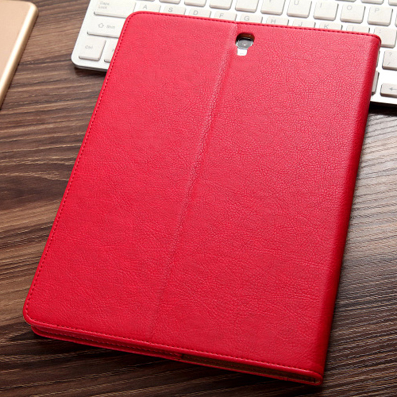 Leather Samsung Galaxy Tab S3 Case Cover With Card Holder And Pen Cap SGTC06_9