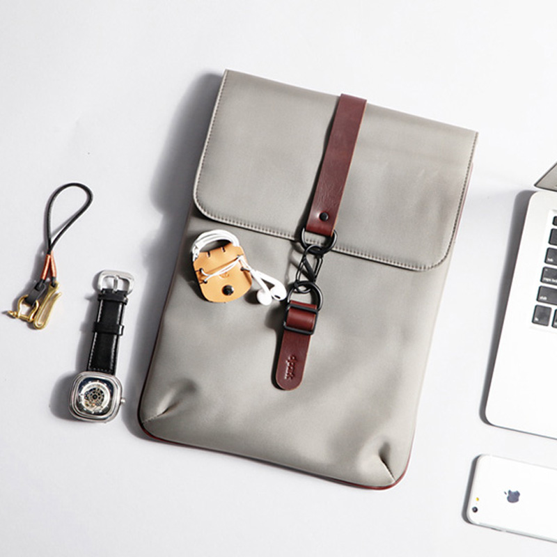 Canvas Macbook 12 Surface Pro 6 5 4 3 Laptop Book Bag With Buckle SPC03_15