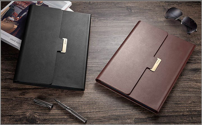 Leather Black Surface Pro 5 4 Case Covers With Pen Storage Location SPC05_12