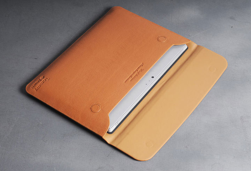 Brown Leather Surface Pro 6 5 4 3 Book Leather Bags Cover SPC07_24