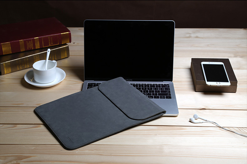Leather Surface Pro 5 4 3 Laptop Bag Cover With Small Bag SPC12_11
