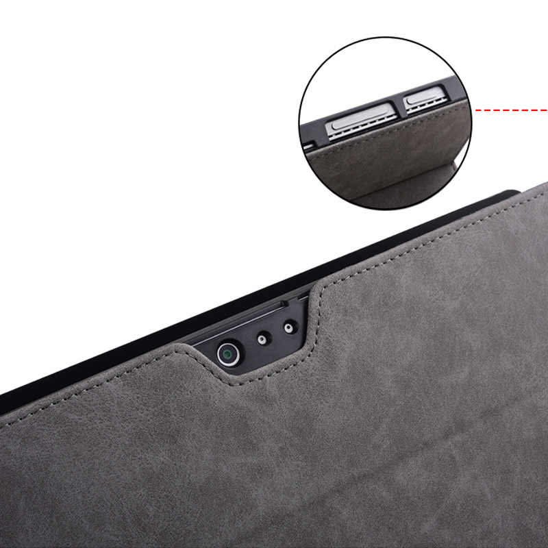 Protective Leather Surface Pro 7 6 5 4 12.3 Inch Cover With Pen Cap SPC13_10