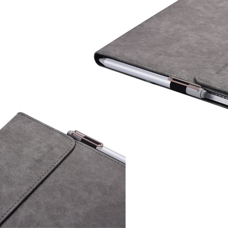 Protective Leather Surface Pro 7 6 5 4 12.3 Inch Cover With Pen Cap SPC13_11