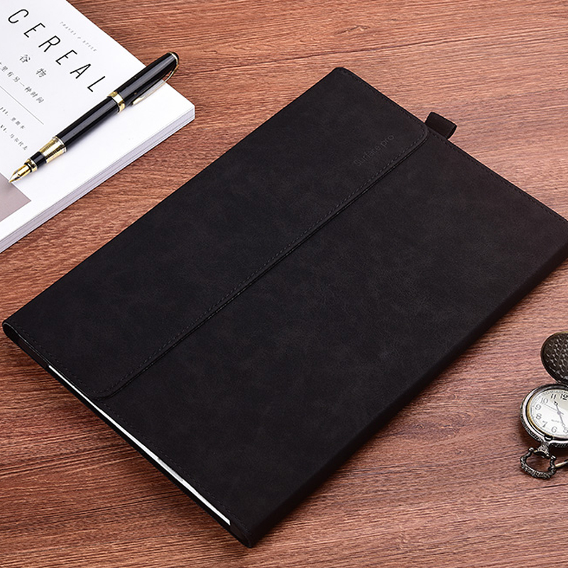Protective Leather Surface Pro 7 6 5 4 12.3 Inch Cover With Pen Cap SPC13_12