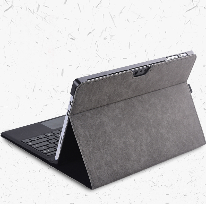 Protective Leather Surface Pro 7 6 5 4 12.3 Inch Cover With Pen Cap SPC13_9