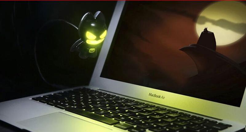2018 Cool Batman USB Night Light For Macbook Pro Air Notebook Laptop USL02 | Cheap Cell-phone ...