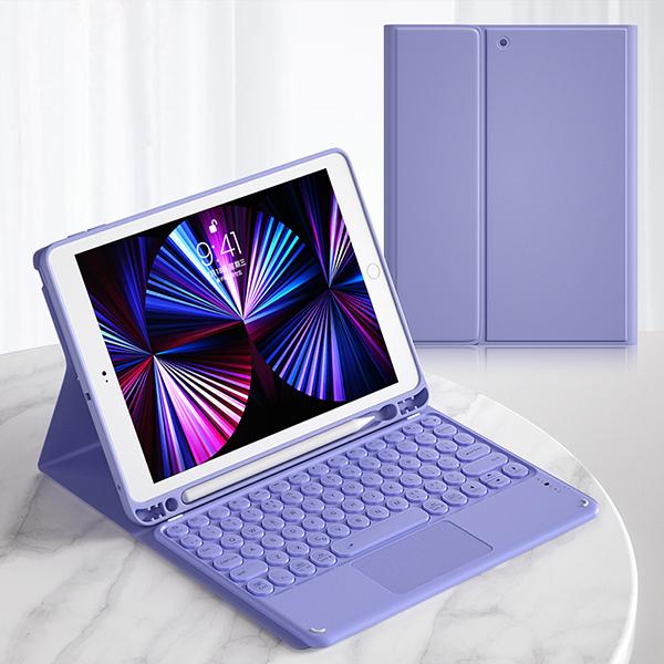 Best iPad Air 1 2 2017 New iPad Pro 9.7 Inch iPad Mini 4 3 2 1 Keyboard Cover IP501_2