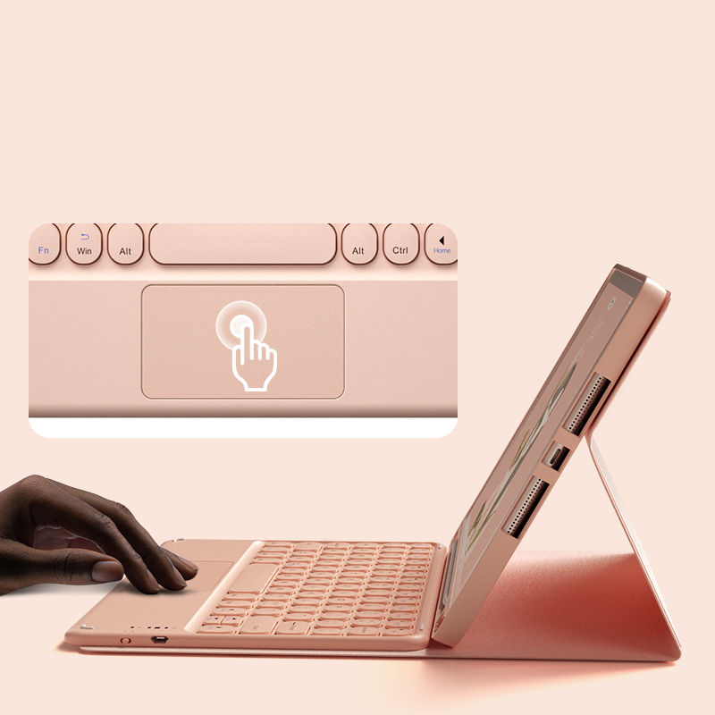 Perfect Leather iPad Pro 11 10.2 New iPad Air Keyboard Cover IP501_4