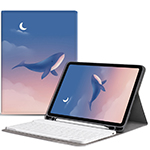 Best Leather iPad Air 1 2 Pro 9.7 10.5 Inch Mini 4 3 Keyboard With Cover IP502