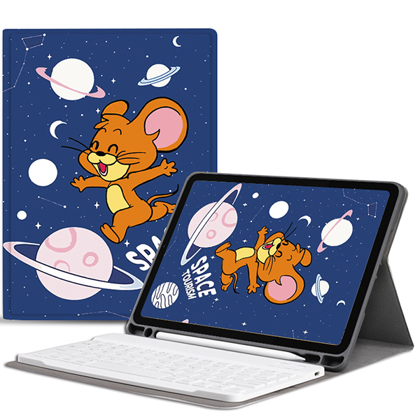 Best Leather iPad Air Pro Mini 2018 New iPad Keyboard With Cover IP502_3