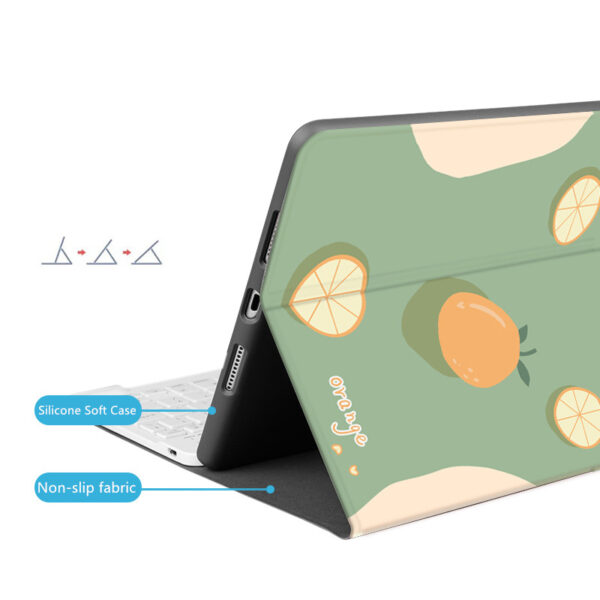 Best Leather iPad Air Pro 2020 New iPad Keyboard With Cover IP502_6