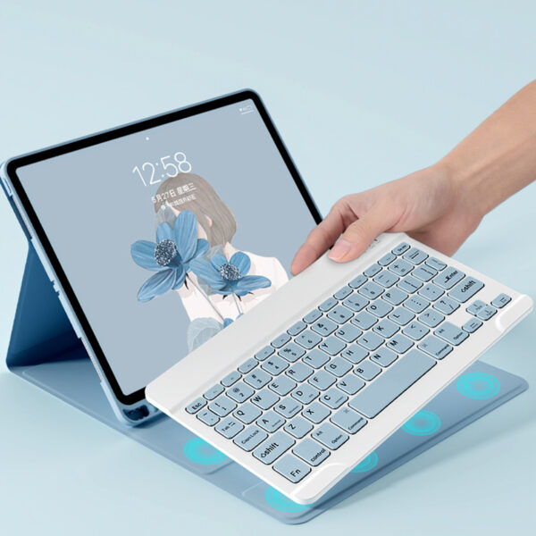 Bluetooth Keyboard With Case For iPad Air 1 2 2017 New iPad Pro 9.7 Inch IP503_5
