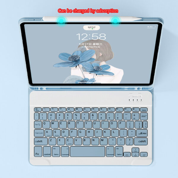 Bluetooth Keyboard With Case For iPad Air 1 2 2017 New iPad Pro 9.7 Inch IP503_6