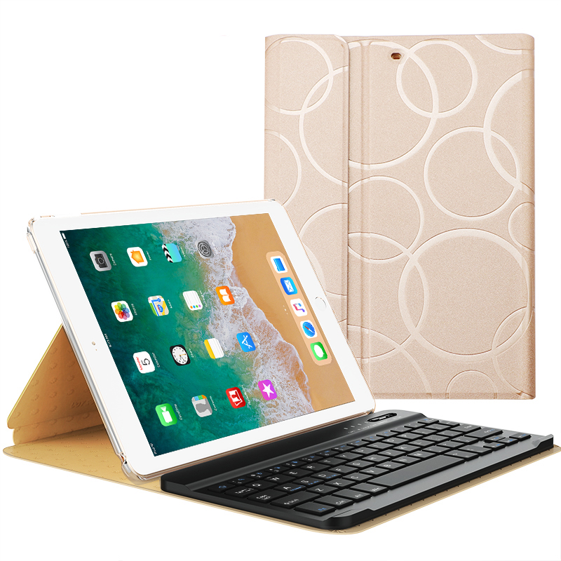 finest selection cca78 01c81 Smart Protective iPad Air 1 2 2017 New iPad Keyboard Cover IP505