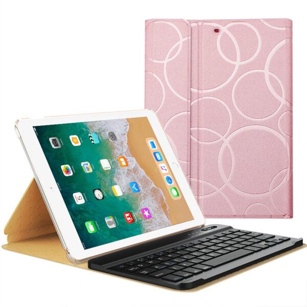 Smart Protective iPad Air 1 2 2017 New iPad Keyboard Cover IP505_2