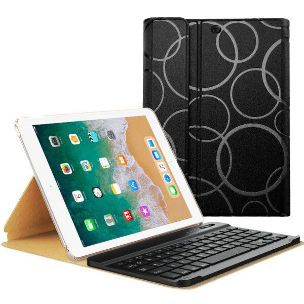 Smart Protective iPad Air 1 2 2017 New iPad Keyboard Cover IP505_3