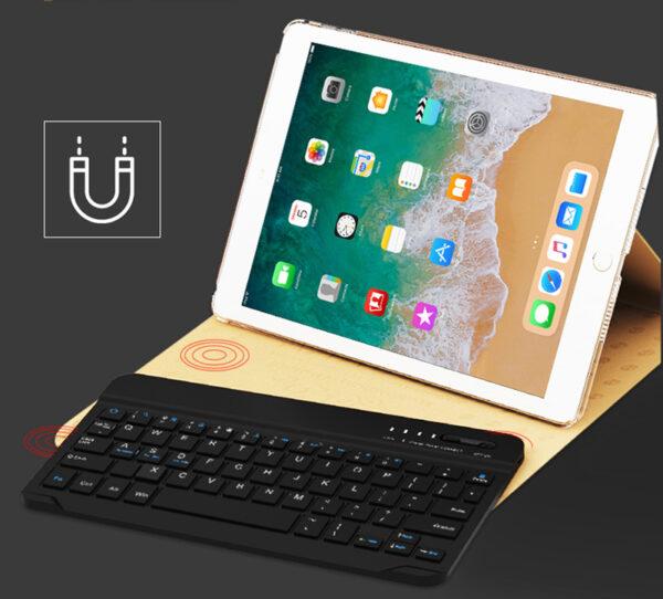 Smart Protective iPad Air 1 2 2017 New iPad Keyboard Cover IP505_5
