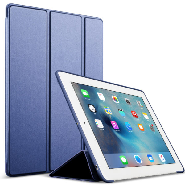 Perfect Silicone Navy blue iPad Air Case Cover IPC02