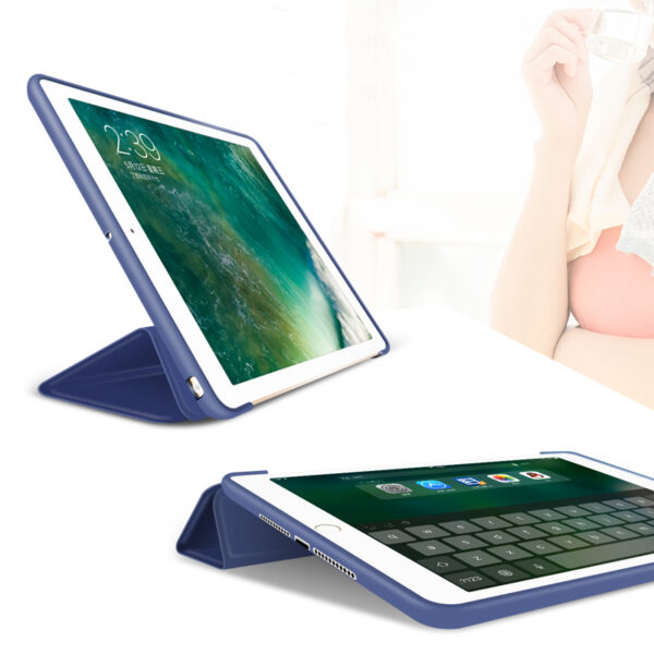 Perfect Silicone Navy blue iPad Air Case Cover IPC02_2