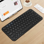 Retro Round Keycap Keyboard For Tablet Phone PC IPK01