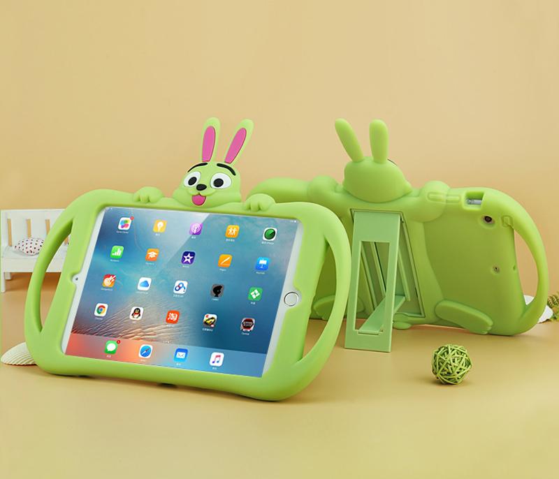 Protective Silicone New iPad Air Pro Mini Case For Children Kid IPC05_3