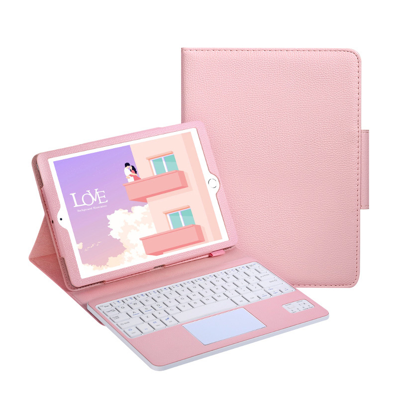 Protective Leather Cover With Keyboard For iPad Pro Air 3 With Touchpad IPK03