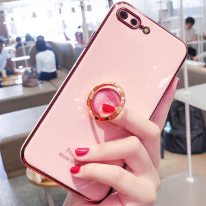 Perfect Case With Ring For iPhone 6 7 8 Plus SE IPS505