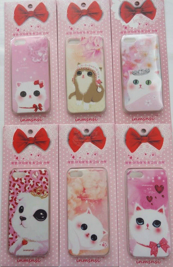 Cute Animal Dog And Cat iPhone 5s Cases IPS505_3