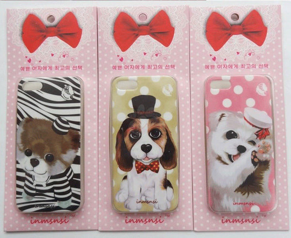 Cute Animal Dog And Cat iPhone 5s Cases IPS505_4