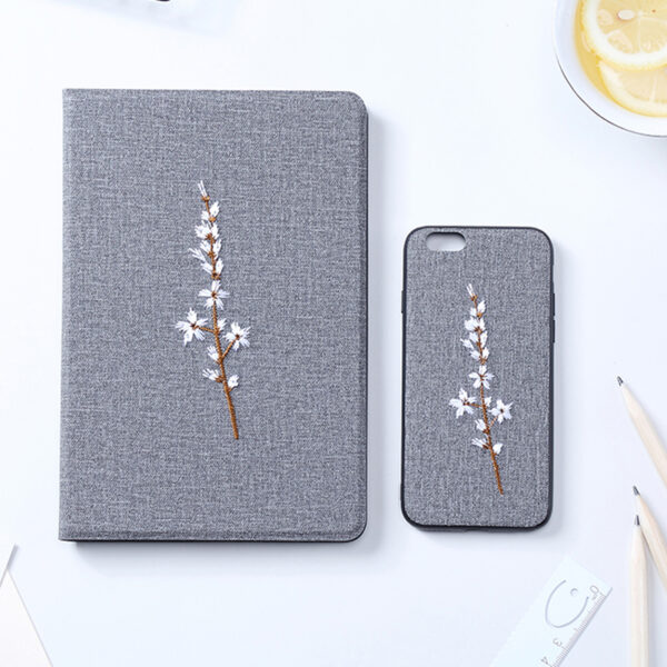 Embroidery Cover For iPad Mini Air Pro 2017 2018 New iPad IPMC03_2