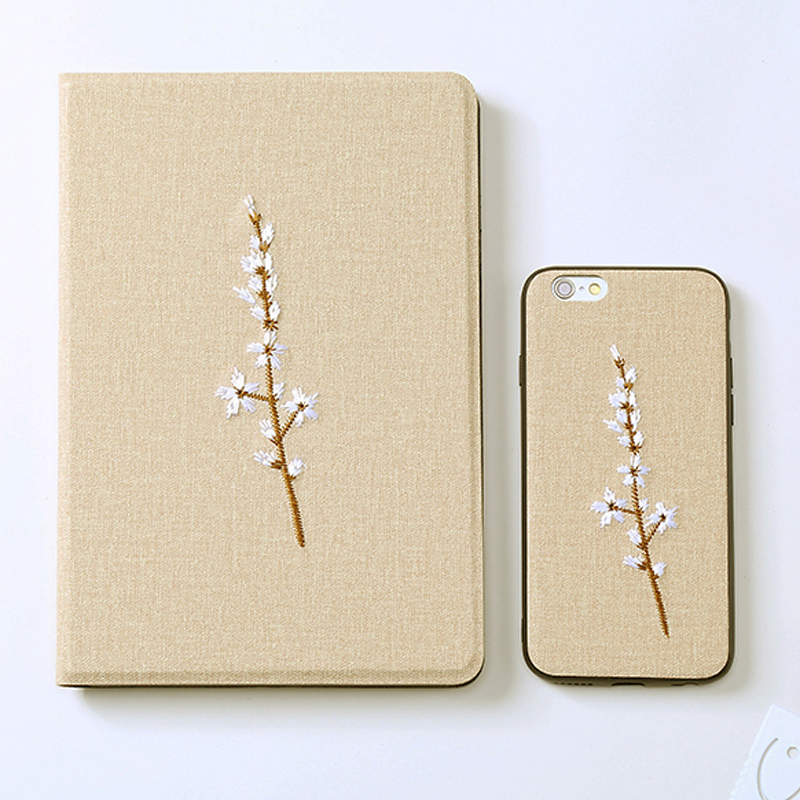 Embroidery Cover For iPad Mini Air Pro 2017 2018 New iPad IPMC03_3