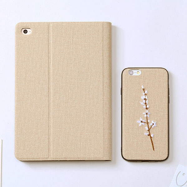 Embroidery Cover For iPad Mini Air Pro 2017 2018 New iPad IPMC03_7