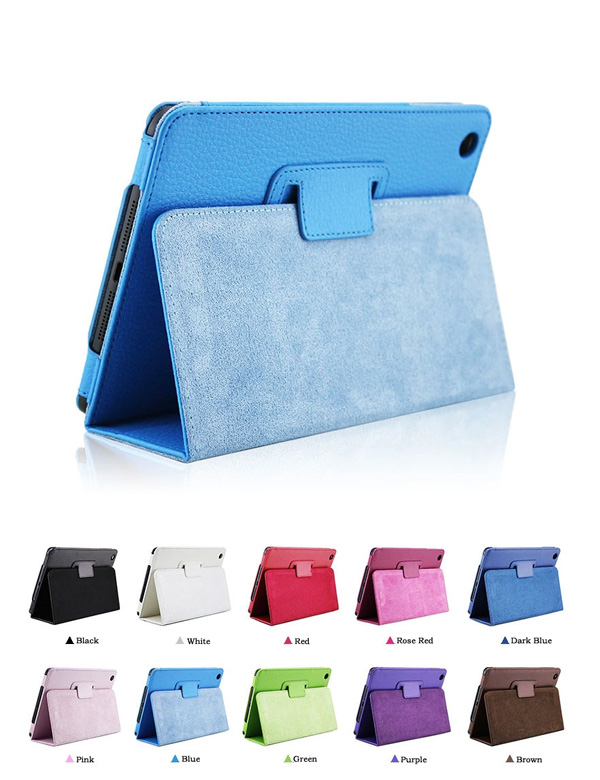 leather ipad mini 2 cover can be hold with card slot IPMC05_1