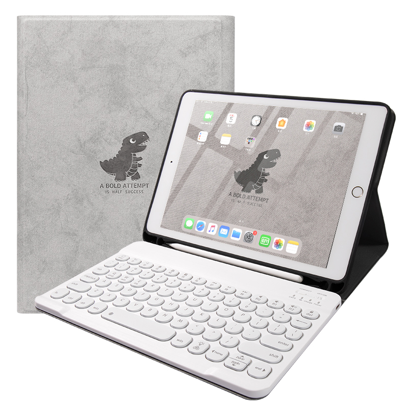 Best Leather New iPad Air 4 3 Pro 11 10.5 Keyboard With Cover IPMK01