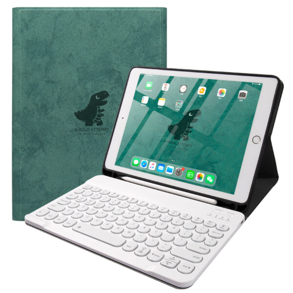 Best Leather New iPad Air 4 3 Pro 11 10.5 Keyboard With Cover IPMK01_2