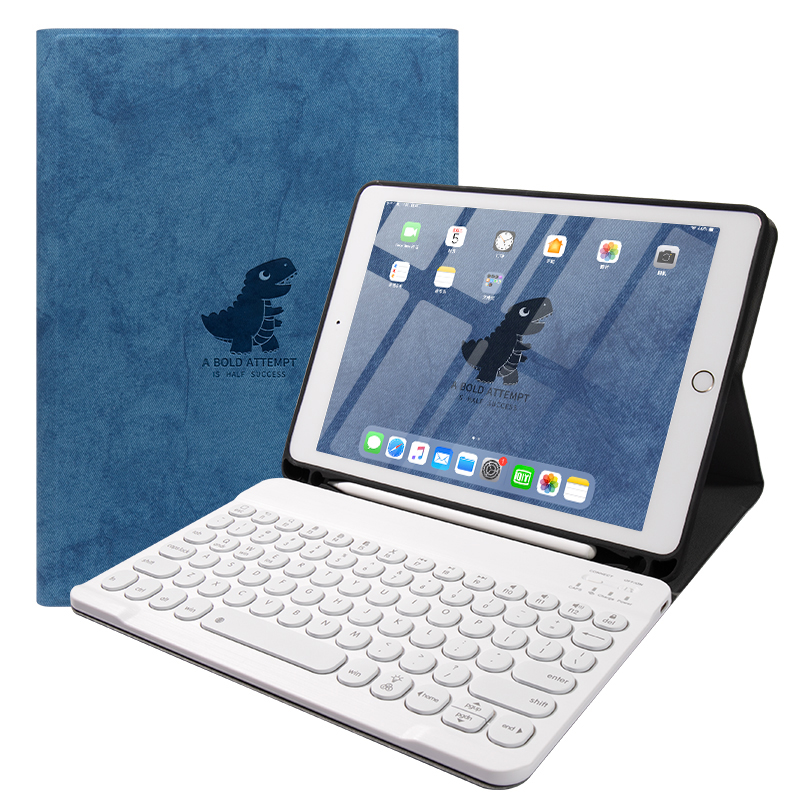 Best Leather New iPad Air 4 3 Pro 11 10.5 Keyboard With Cover IPMK01_3
