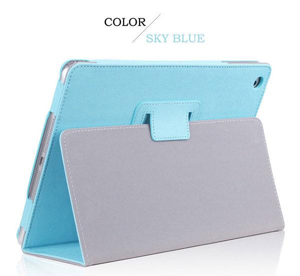 Cheap iPad Mini Air Pro Leather Cover Folding Folio Case IPMC06_2