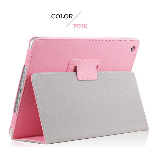 Cheap iPad Mini Air Pro Leather Cover Folding Folio Case IPMC06_5